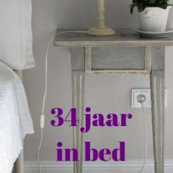 34 jaar in bed