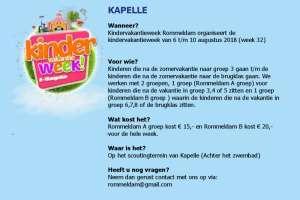 Kindervakantie weken Kapelle - Reimerswaal
