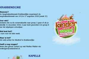 Kindervakantieweken Kapelle- Reimerswaal