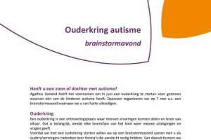 Ouderkring voor ouders van kinderen met autisme