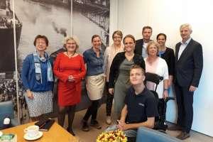 Werkbezoek gemeente Krimpen aan den IJssel