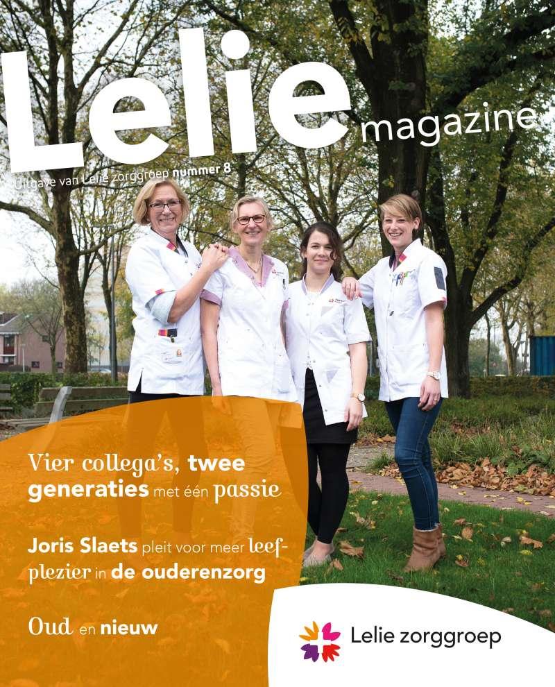Oud en nieuw staan centraal in ons nieuwe magazine