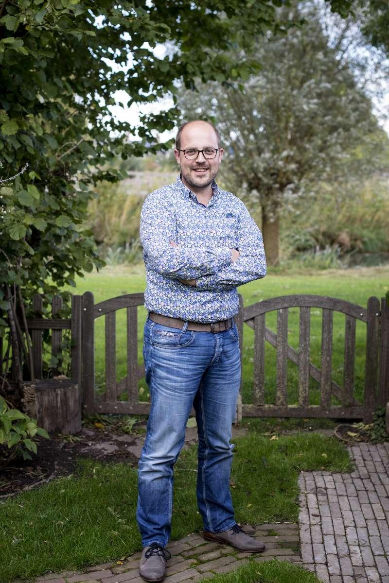 Stephan Roelofs 10 jaar in dienst