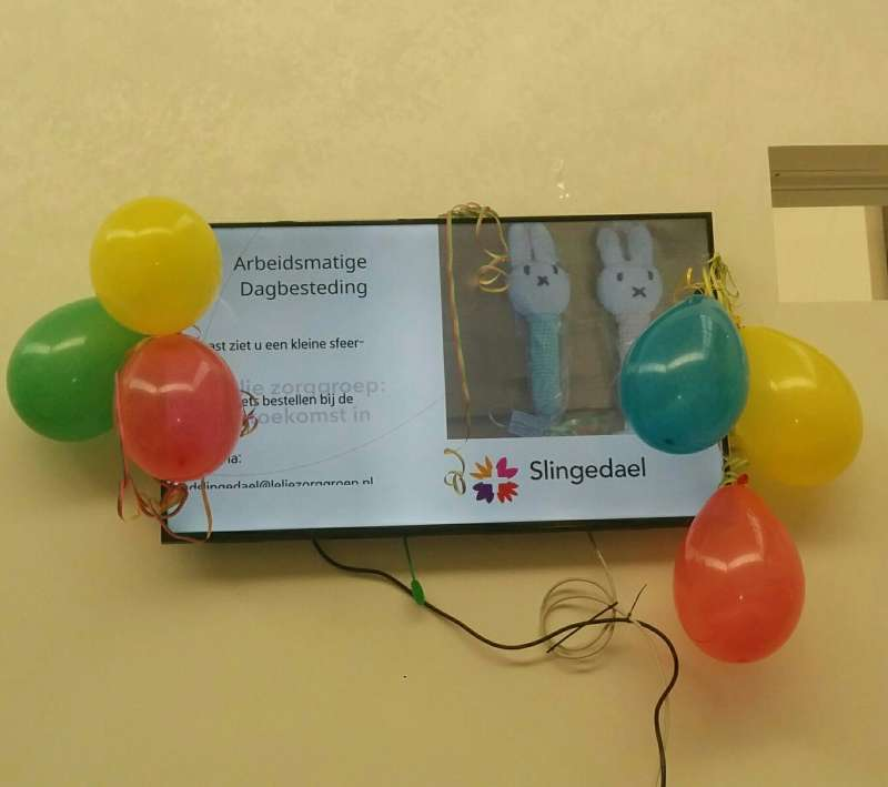 Samen tv kijken in Slingedael