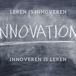 Leren is innoveren, innoveren is leren