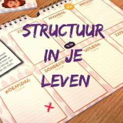 Structuur in je leven