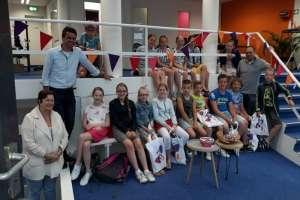 Schoolklassen maken kennis met kunde bij Agathos Sliedrecht