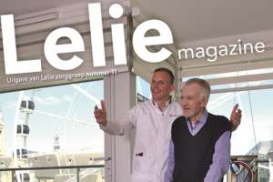 Daadkracht in het Lelie magazine