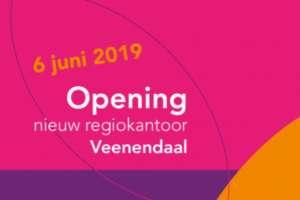 Burgemeester Kats aanwezig bij opening regiokantoor op 6 juni
