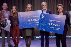 Theater Rotterdam doneert aan Daniel den Hoed Fonds en hospice De Regenboog