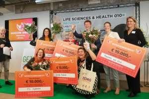 Lelie zorggroep wint €10.000 voor 'veilige toegang'!