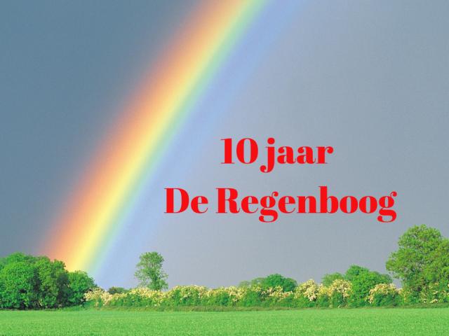 10 jaar De Regenboog