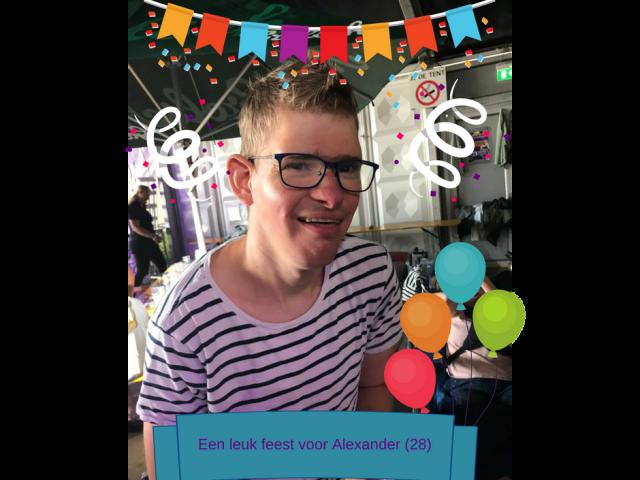 Een leuk feest voor Alexander (28)