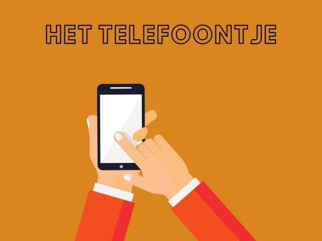 Het telefoontje