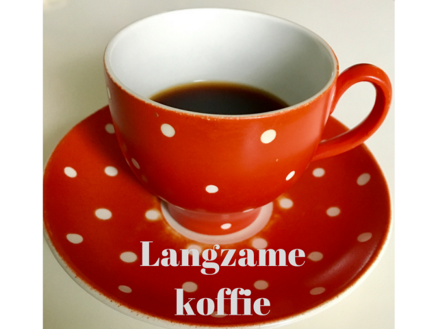 Langzame koffie
