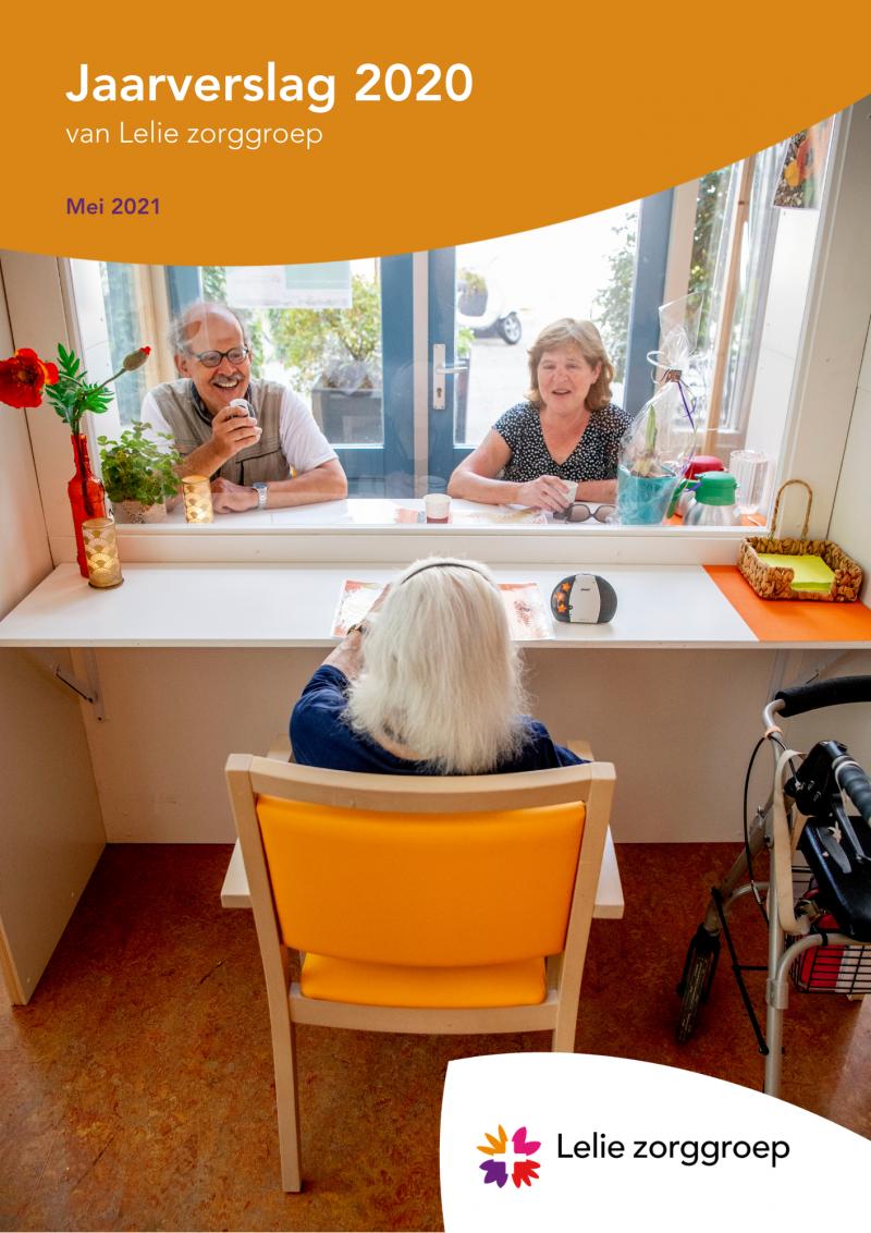 Jaarverslag: Lelie zorggroep blikt terug op een veelbewogen 2020
