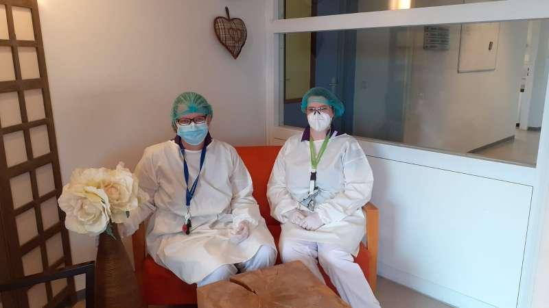 Ziekenhuizen helpen en leerzame ervaring op COVID-afdeling Lelie zorggroep en Sonneburgh